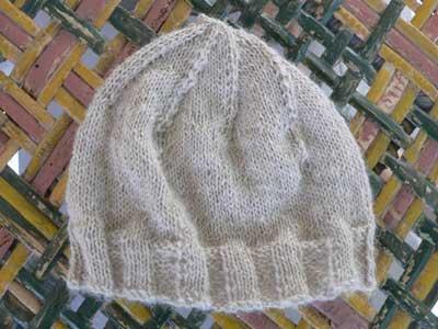 Alpaca Newborn Hat
