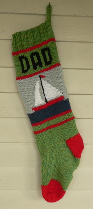 Sailboat Stocking