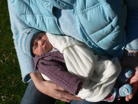 Sleeping Baby Niece