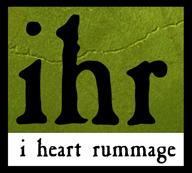 i heart rummage Logo